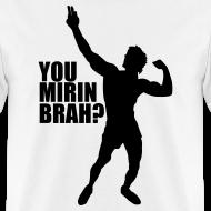 Design ~ Zyzz Silhouette You mirin brah t-shirt
