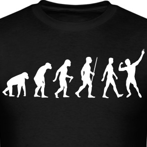 Evolution of Zyzz t-shirt - Men's T-Shirt