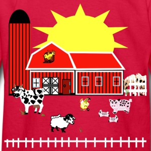Farm Animals - Kids' Long Sleeve T-Shirt