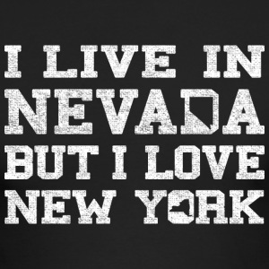 Live Nevada Love New York Long Sleeve Shirts - Men's Long Sleeve T-Shirt by Next Level