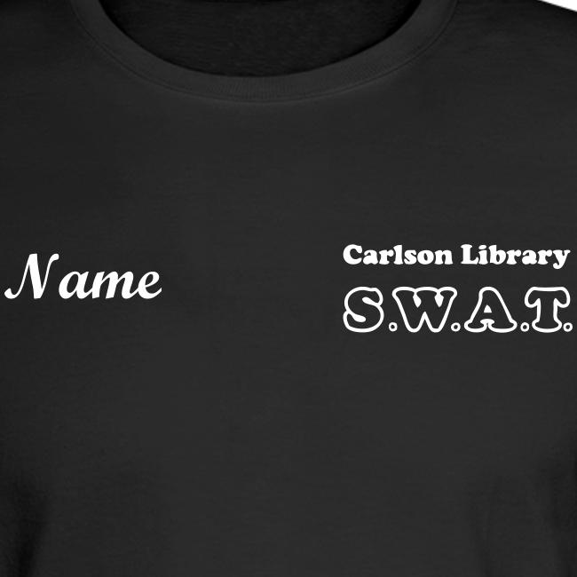 Men's T Lg. Sleeve SWAT w/name