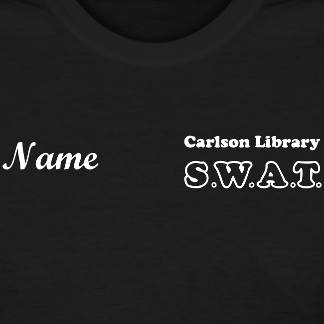 Women's T CUP SWAT w/name