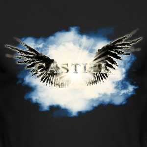 castiel fallen5 Long Sleeve Shirts - Men's Long Sleeve T-Shirt by Next Level