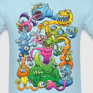 Monstrously Messy T-Shirts - Men's T-Shirt