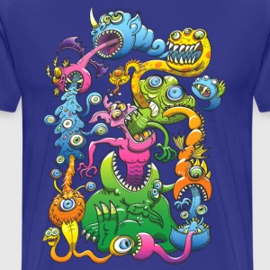 Monstrously Messy T-Shirts - Men's Premium T-Shirt