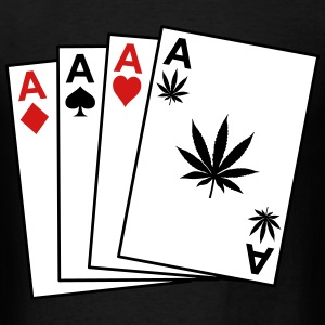 Four aces T-Shirts - Men's T-Shirt