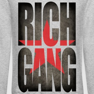 rich gang Long Sleeve Shirts - Crewneck Sweatshirt
