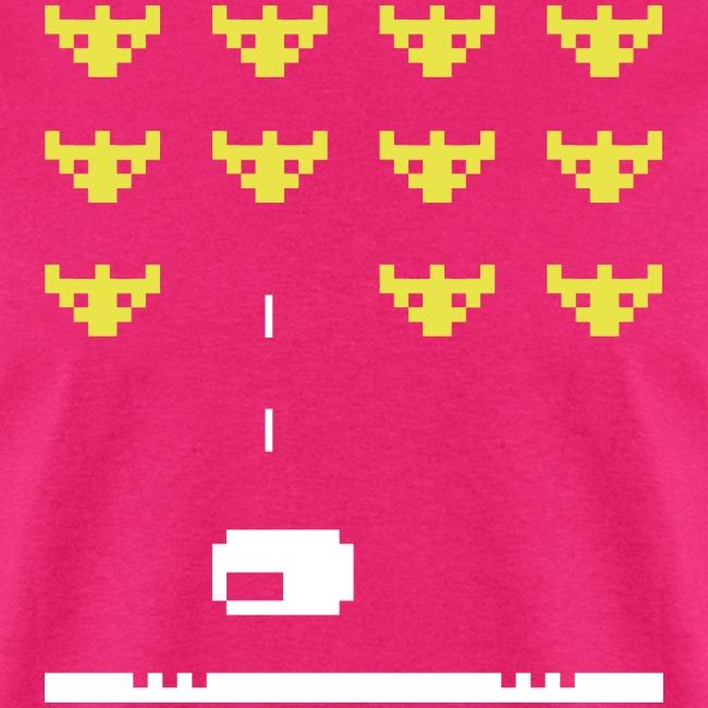 Fullscreen Invaders Men's T-Shirt