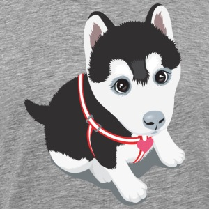 Dog - Pet - Animals - Husky T-Shirts - Men's Premium T-Shirt