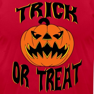trick_or_treat2 T-Shirts - Men's T-Shirt by American Apparel