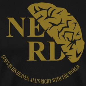 nerd_black00 T-Shirts - Men's Premium T-Shirt