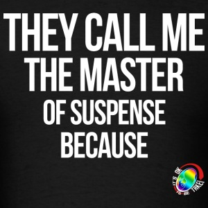 George Takei Master of Suspense  T-Shirts - Men's T-Shirt