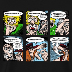 Fabulous Furry Freak Brothers Smoking - Men's Premium T-Shirt