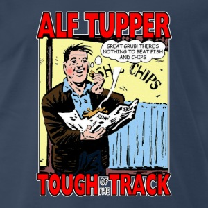 Alf Tupper Tough of the Track Comic Fish & Chips - Men's Premium T-Shirt