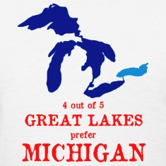 4 out of 5 Great Lakes Women's T-Shirts