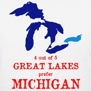 4 out of 5 Great Lakes Women's T-Shirts - Women's T-Shirt