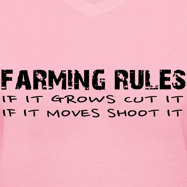 Farming Rules Women's Hoodie