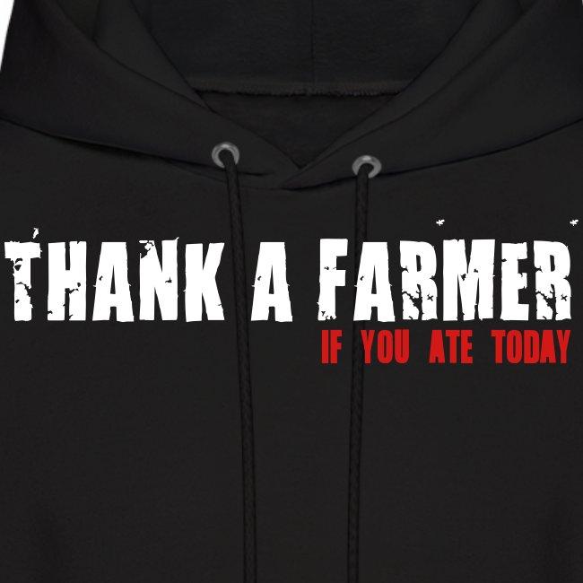Thank A Farmer - Mens Hoodie