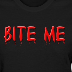 Bite Me In Blood Shirt