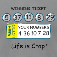Design ~ Lotto - Mens T-shirt by American Apparel