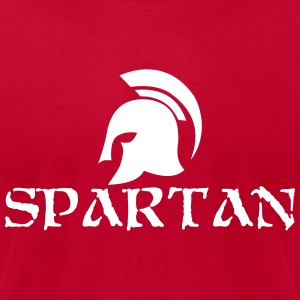 Spartan T-Shirts - Men's T-Shirt by American Apparel