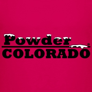 Colorado Powder Artwork - Toddler Premium T-Shirt