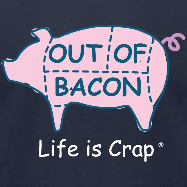 Out of Bacon - Men's T-Shirt by American Apparel