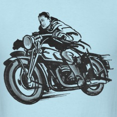Vintage Motorcycle t-shirt - Speeder | Motorcycles