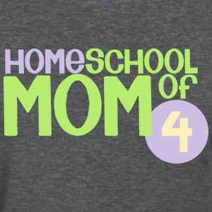 Mom of 4 - Women's T-Shirt