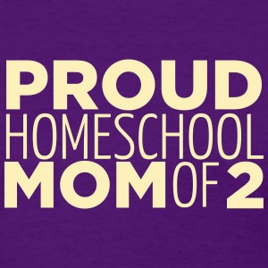 Proud Mom of 2 - Women's T-Shirt