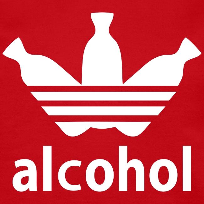 Alcohol Crew Neck R/W