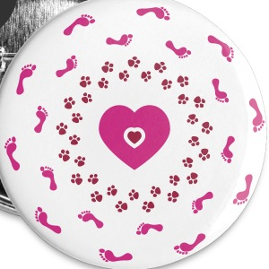I love my dog Buttons - Large Buttons