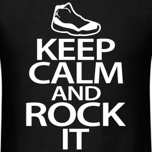 keep calm and rock it T-Shirts - Men's T-Shirt