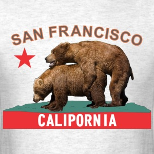 san_francisco_licoriceflame T-Shirts - Men's T-Shirt