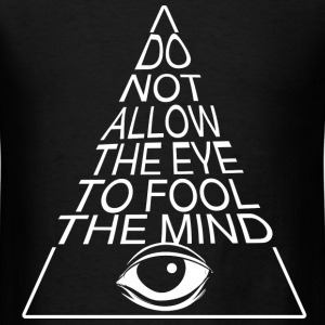 illuminati eye T-Shirts - Men's T-Shirt
