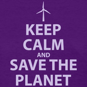 Keep Calm and Save The Planet - Women's T-Shirt