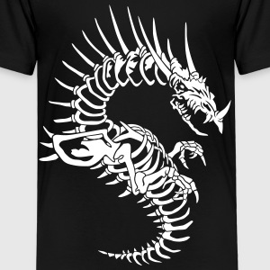 Dragon skeleton Baby & Toddler Shirts - Toddler Premium T-Shirt
