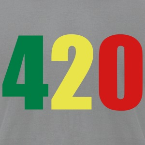 420 T-Shirts - Men's T-Shirt by American Apparel
