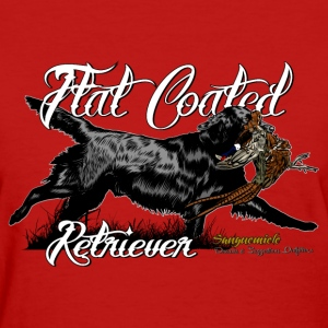 flat_coated_retriever Women's T-Shirts - Women's T-Shirt