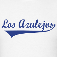 Design ~ Men's Los Azulejos - Birdback, white