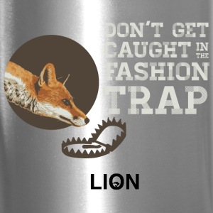 Don't Get Caught in the Fashion Trap Bottles & Mugs - Travel Mug