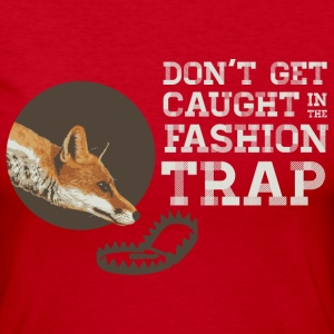 Don't Get Caught in the Fashion Trap Long Sleeve Shirts - Women's Long Sleeve Jersey T-Shirt
