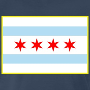Chicago Flag - Men's Premium T-Shirt