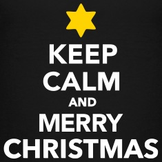 Keep calm and Merry christmas Kids' Shirts