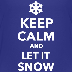 Keep calm let it snow Kids' Shirts - Kids' Premium T-Shirt