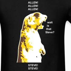 ALLEN/STEVE Shouting Squirrel T-Shirts