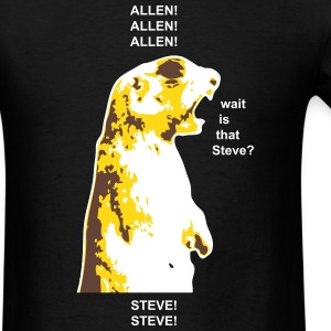 ALLEN/STEVE Shouting Squirrel T-Shirts - Men's T-Shirt