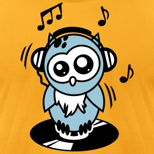 Owl Willis available clothing: DJ equipment T-Shirts - Men's T-Shirt by American Apparel
