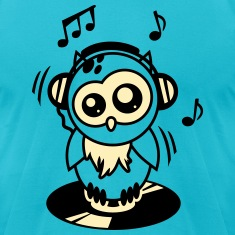 Owl Willis available clothing: DJ equipment T-Shirts