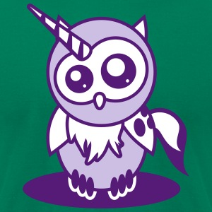 Owl Willis available clothing: Unicorn Ladybug T-Shirts - Men's T-Shirt by American Apparel